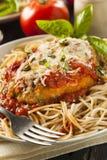 Homemade Italian Chicken Parmesan Royalty Free Stock Photo