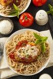 Homemade Italian Chicken Parmesan Stock Image