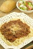 Homemade Italian Spaghetti Royalty Free Stock Images