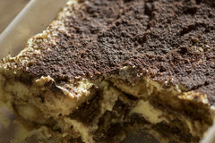Homemade Italian tiramisu Stock Photography