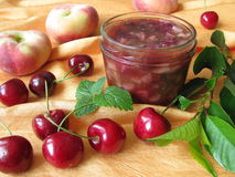 Homemade jam Royalty Free Stock Images