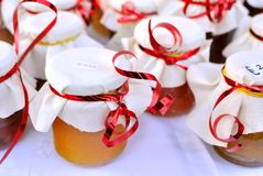Homemade jam royalty free stock photo
