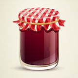 Homemade Jam Royalty Free Stock Photography