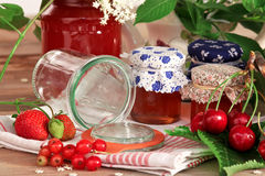 Homemade jam Stock Images