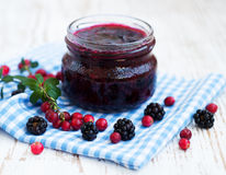 Homemade  jam Royalty Free Stock Photo
