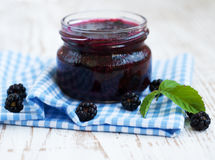 Homemade  jam Stock Image