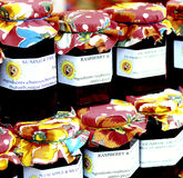Homemade Jams Royalty Free Stock Photo