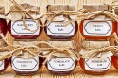 Homemade jams Stock Image