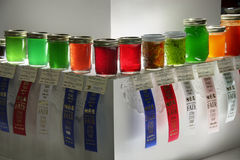 Homemade Jellies At State Fair Royalty Free Stock Images