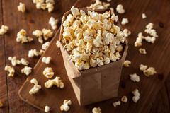 Homemade Kettle Corn Popcorn Royalty Free Stock Photography