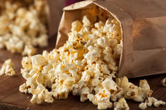 Homemade Kettle Corn Popcorn Stock Photos