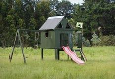 Homemade kids playhouse Stock Photography