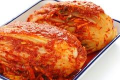 Homemade kimchi, korean food. Homemade kimchi(napa cabbage), korean traditional food Royalty Free Stock Images