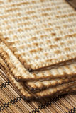 Homemade Kosher Matzo Crackers Royalty Free Stock Images
