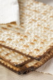 Homemade Kosher Matzo Crackers Royalty Free Stock Photography