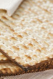 Homemade Kosher Matzo Crackers Stock Image