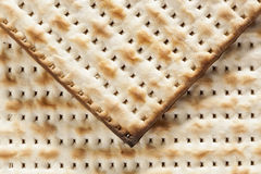 Homemade Kosher Matzo Crackers Royalty Free Stock Image