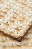 Homemade Kosher Matzo Crackers Royalty Free Stock Photo