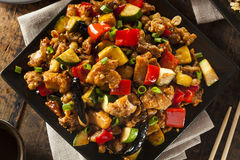 Homemade Kung Pao Chicken Royalty Free Stock Photos