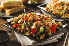 Homemade Kung Pao Chicken Stock Photos
