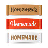 Homemade labels Stock Photos