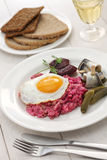 Homemade labskaus, Northern Germany cuisine Royalty Free Stock Photos