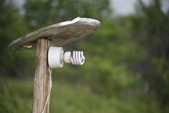 Homemade lantern Stock Image