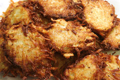 Homemade Latkes Royalty Free Stock Photography
