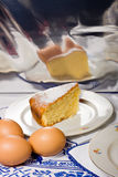 Homemade lemon cake. Royalty Free Stock Image