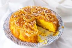 Homemade lemon cake Stock Image
