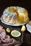 Homemade lemon cake Stock Photography