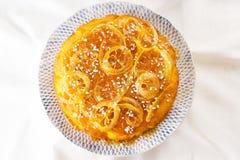 Homemade lemon cake Royalty Free Stock Image