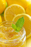 Homemade lemon jam Royalty Free Stock Image