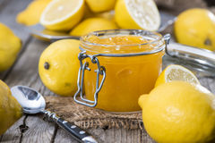 Homemade Lemon Jam Royalty Free Stock Images