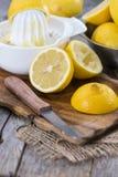 Homemade Lemon Juice Stock Photos