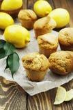 Homemade lemon muffins Royalty Free Stock Image