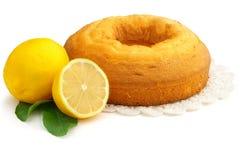 Homemade lemon pie Stock Photography