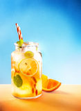 Homemade Lemon Summer Lemonade Royalty Free Stock Photos