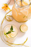 Homemade lemonade Stock Image