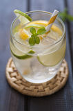 Homemade lemonade Stock Photo