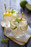 Homemade lemonade Stock Photos