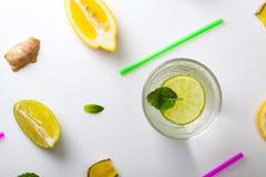 Homemade lemonade. Royalty Free Stock Images
