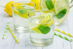 Homemade lemonade Stock Images