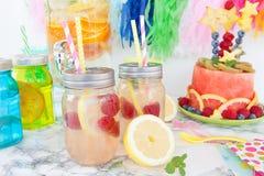 Homemade lemonade Royalty Free Stock Images