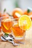 Homemade lemonade sangria Royalty Free Stock Image