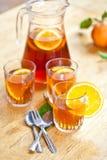 Homemade lemonade sangria Stock Images