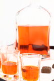 Homemade liqueur Stock Image