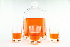 Homemade liqueur Stock Photo