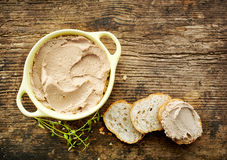 Homemade Liver Pate Royalty Free Stock Photography