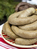 Homemade liverwurst Royalty Free Stock Image